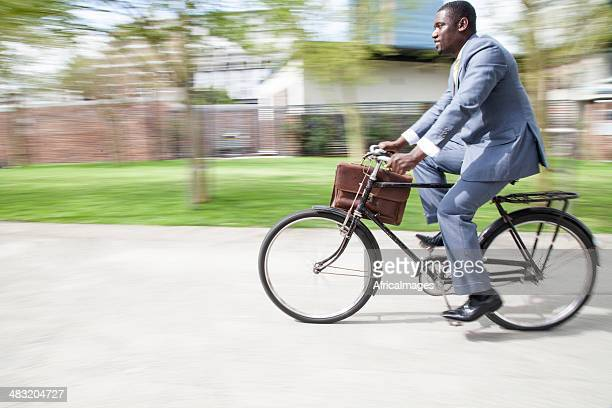 African businessman on the go!