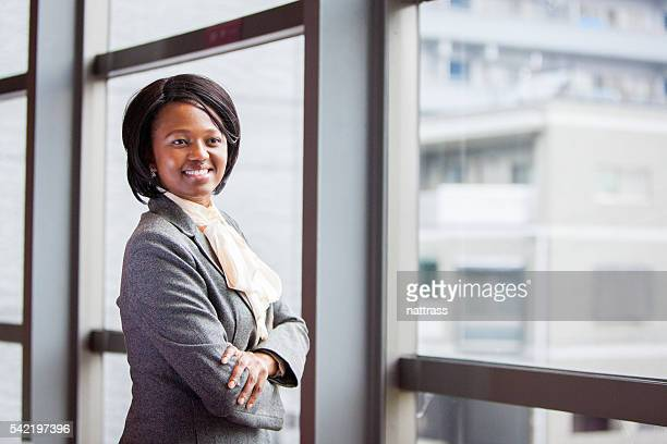 African Businesswoman in control!