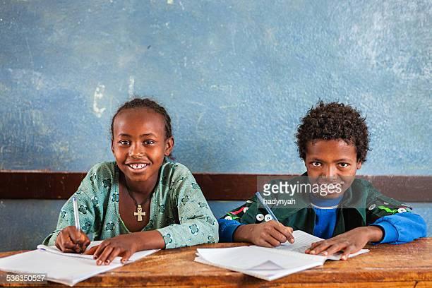 African children learning English language