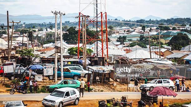 African city. Abuja, Nigeria.