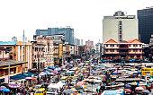 Balogun market, Lagos, Nigeria.
