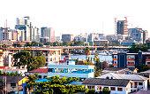African megacity.