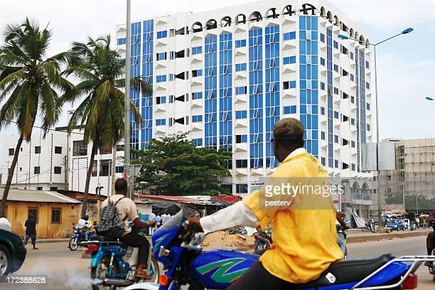 african city traffic