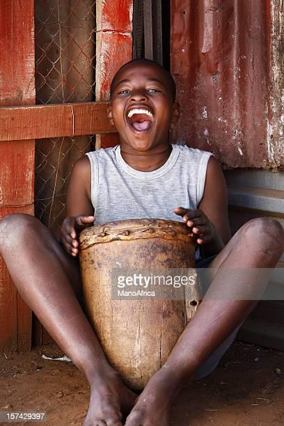 African drummer boy