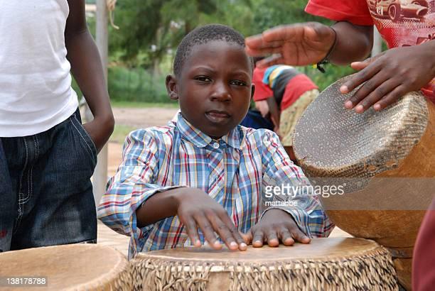 Afrikanischer Drummer