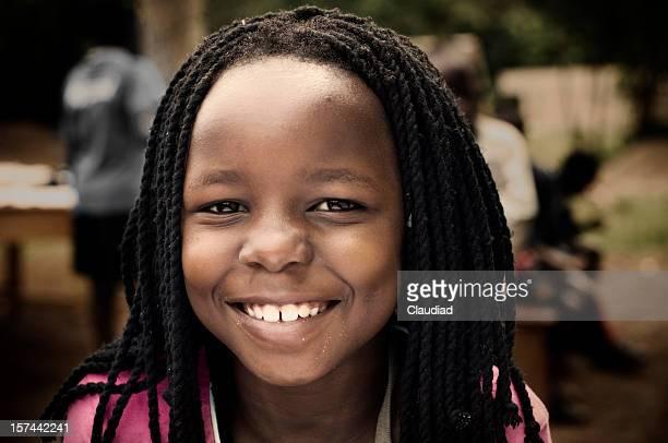 Afrikanische Mädchen