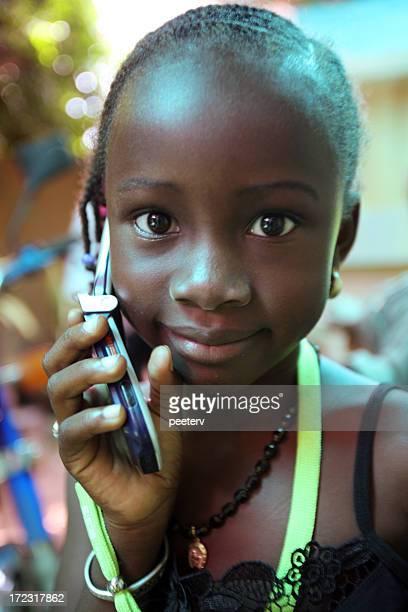African girl.