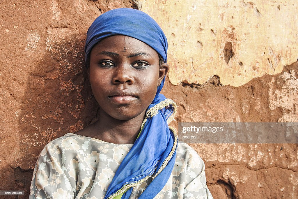 African girl portrait. : Stock Photo
