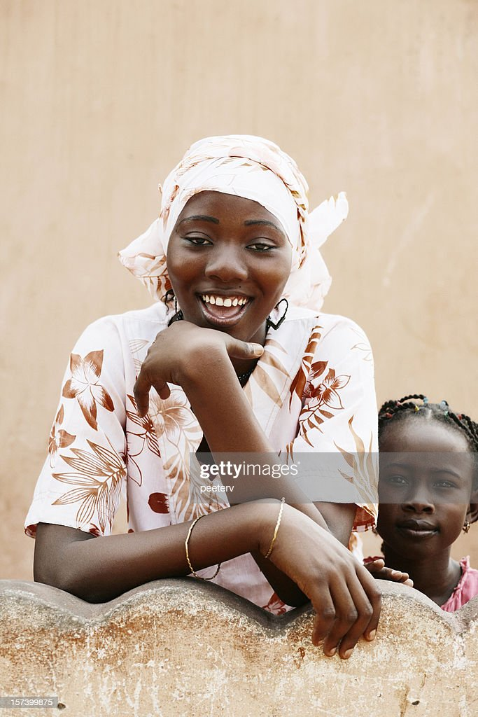 african girls : Stock Photo