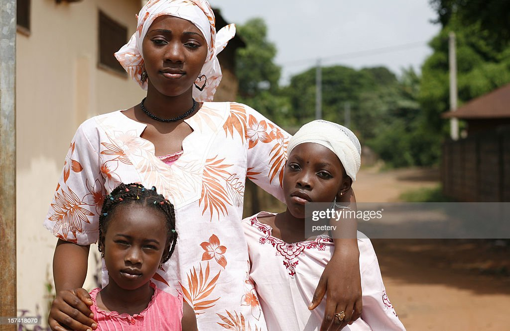 african girls : Stock Photo
