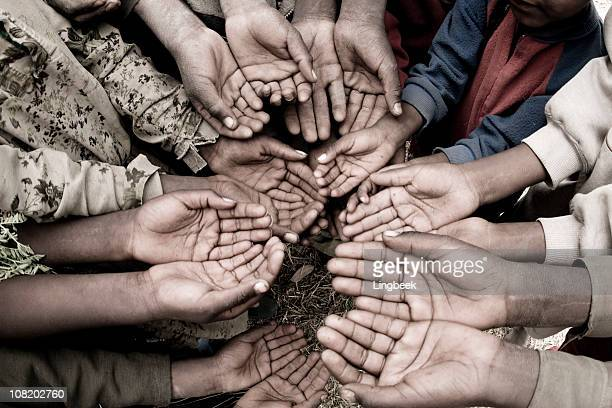 African Hands of the poor