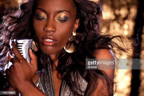 African Jazz Singer