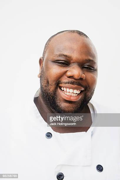 African man laughing