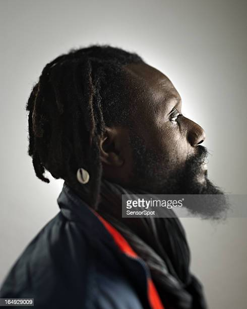 African man profile