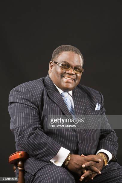 African man wearing suit