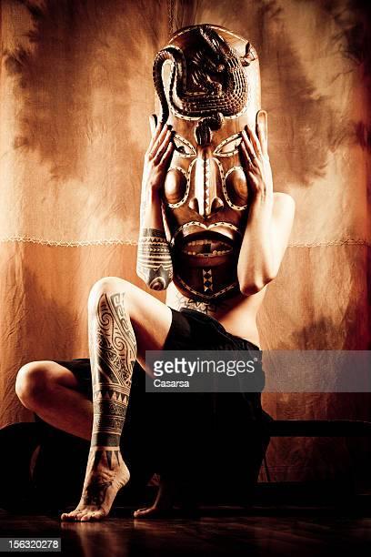 Afrikanischer Maske