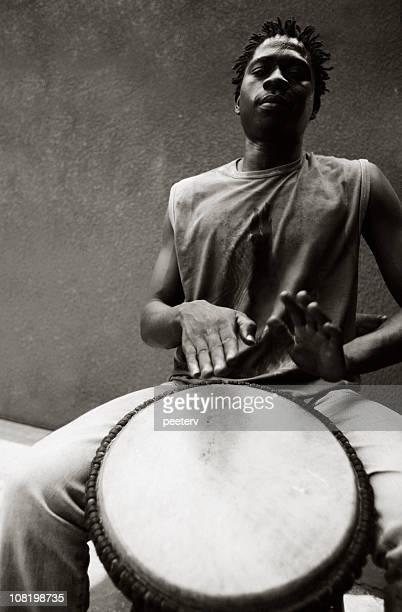 Africain-Musicien