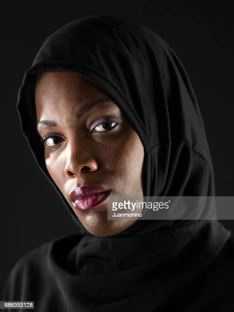 African Muslim woman