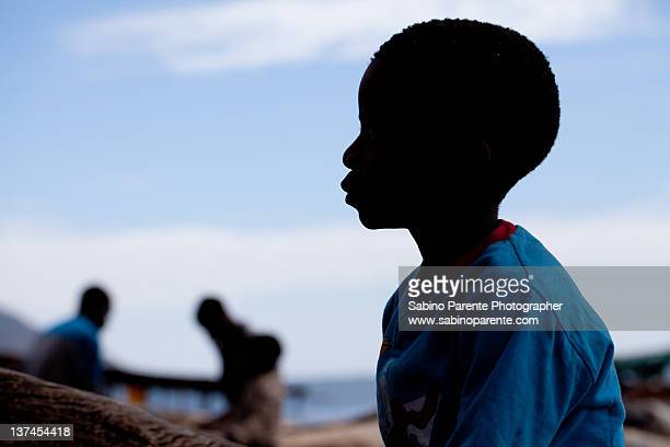 African portrait silhouette - Malawi