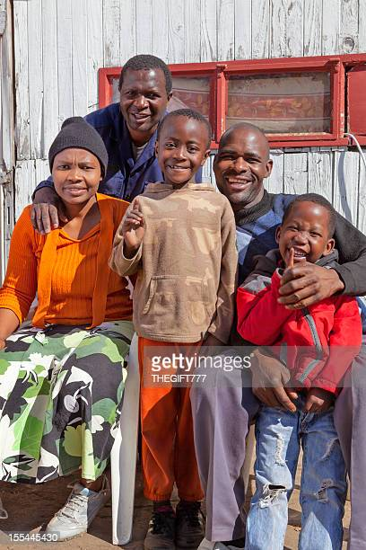 Campagne africaine famille