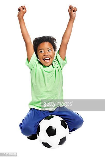 Afrikanischen Fußball-fan für world championships
