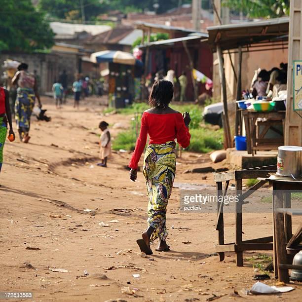 Afrikanischer street scene