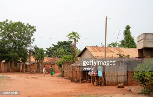 african street scene