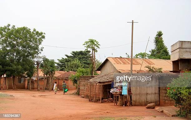 Scène de rue africaine