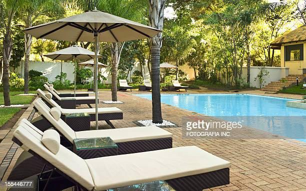 Afrikanischer tropischen Resort