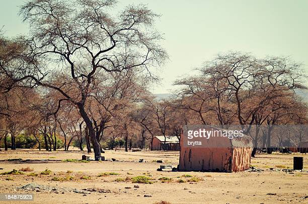 African village near Sesfontein in the Kunene region,Namibia