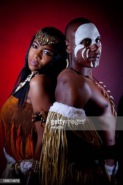 African Tribal Makeup Stock Photos and Pictures | Getty Images