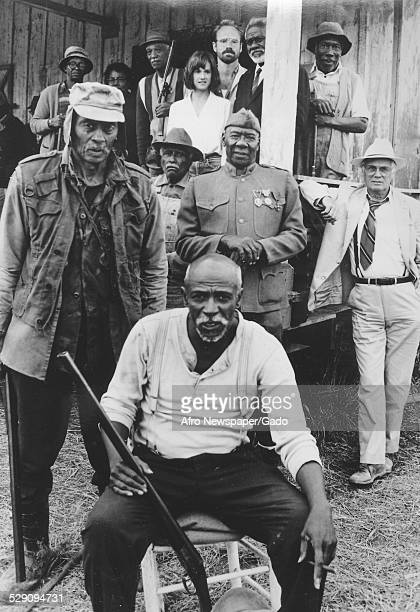 AfricanAmerican actor Louis Gossett Jr 'Sandman' Howard Sims Rosana Carter Papa John Creach Holly Hunter Will Patton Joe Seneca Tiger Haynes Julius...