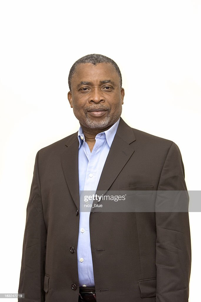 Uomo d'affari afro-americana : Foto stock