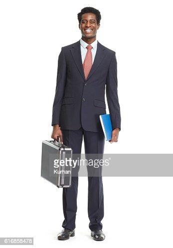 African-American businessman. : Stock Photo