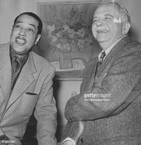 AfricanAmerican composer pianist bandleader and Jazz musician Duke Ellington and first president of the National Association for the Advancement of...