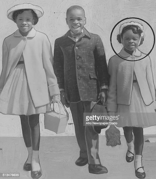 AfricanAmerican family at New Shiloh Baptist Church during an Easter celebration Baltimore Maryland January 4 1959