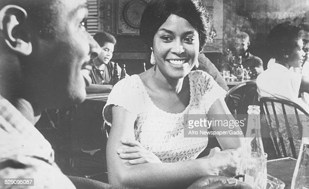 AfricanAmerican jazz vocalist songwriter and actress Abbey Lincoln 1974