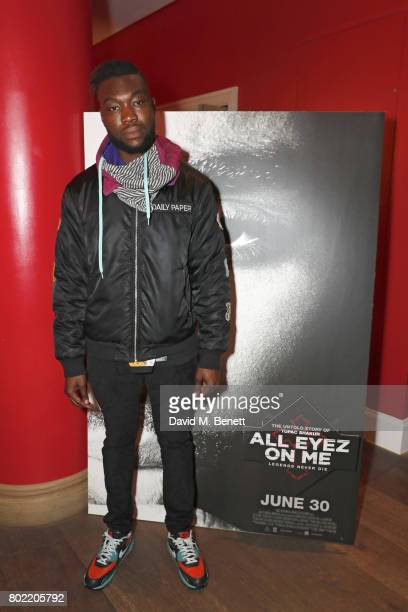 Afrikan Boy attends a special screening of 'All Eyez On Me' at The Ham Yard Hotel on June 27 2017 in London England