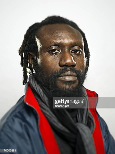 Afro american man