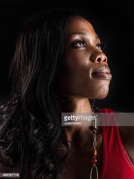 アフロカリブ海の若い女性