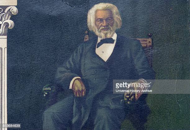 AfroAmerican Monument Published 1897 Frederick Douglass AfricanAmerican author