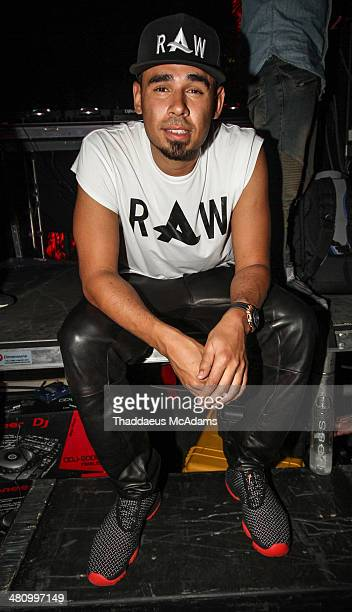 Afrojack at his Private Listening Event For Debut Album 'Forget The World at W Hotel on March 27 2014 in Miami Florida