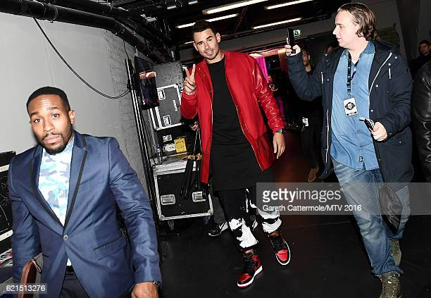 Afrojack is seen backstage during the MTV Europe Music Awards 2016 on November 6 2016 in Rotterdam Netherlands