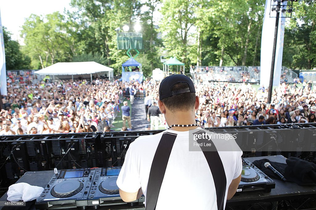 AMERICA - Afrojack performs as part of the Summer Concert Series on 'Good Morning America,' 6/27/14, airing on the ABC Television Network.