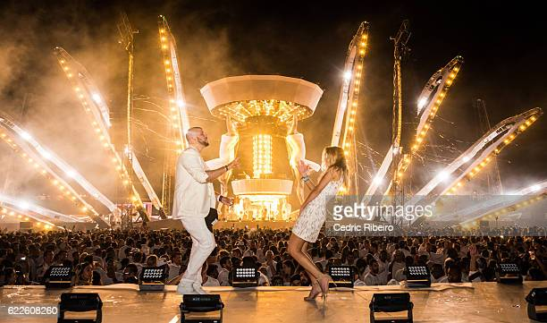 Afrojack performs for Sensation 2016 at Jumeirah Bab Al Shams Desert Resort and Spa on November 11 2016 in Dubai United Arab Emirates