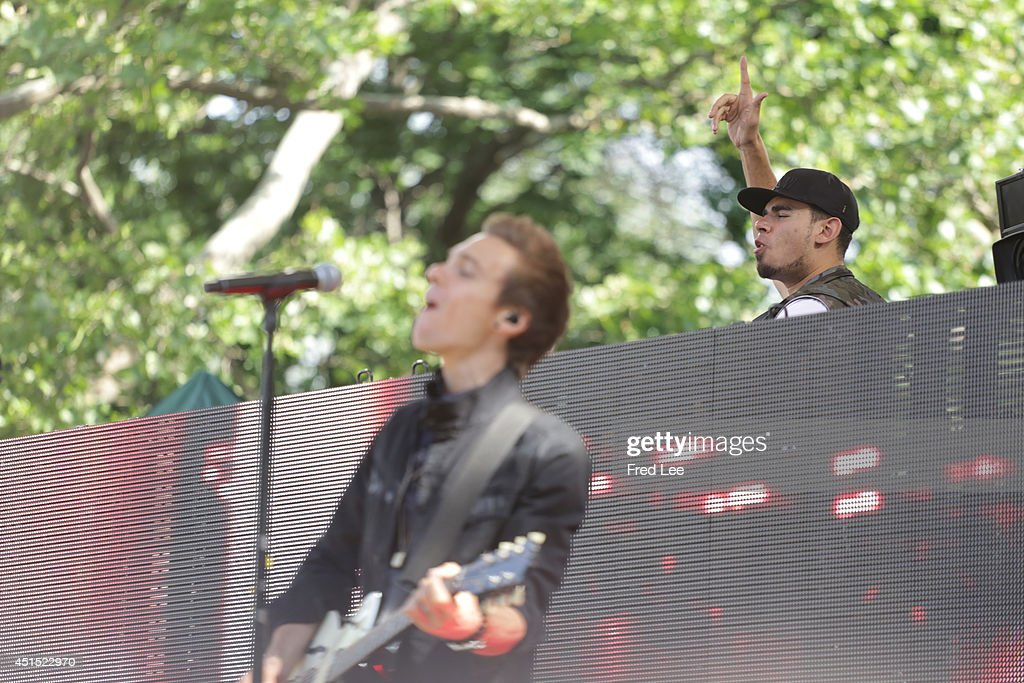 AMERICA - Afrojack performs with special guest Matthew Koma as part of the Summer Concert Series on 'Good Morning America,' 6/27/14, airing on the ABC Television Network.