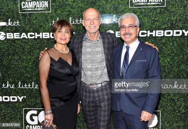 Afsaneh Oskouy GO Campaign Founder and CEO Scott Fifer and Rasoul Oskouy attend the 2017 GO Campaign Gala at NeueHouse Los Angeles on November 18...