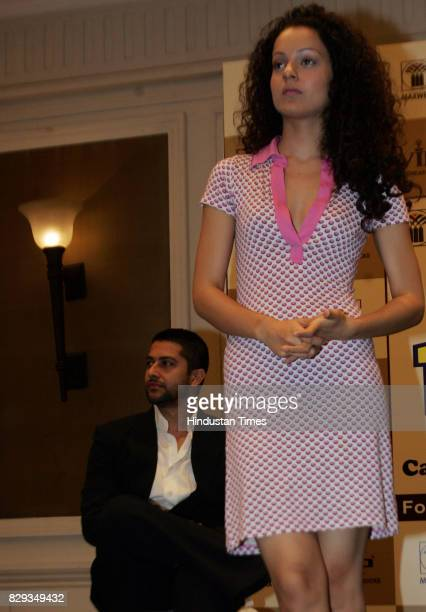Aftab Shivdasani and Kangana Ranaut at the Maxwell Industries Puruskar distribution function at ITC Grand Maratha Sheraton Andheri