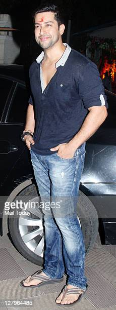 Aftab Shivdasani at Sanjay Dutt's Mata Ki Chowki in Bandra on Monday 3rd October 2011