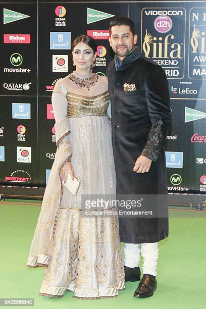 Aftab Shivdasani attend IIFA Awards green carpet during the 17th edition of IIFA Awards the International Indian Film Academy Awards at Ifema on June...